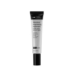 bottle of intensive brightening retinol treatment for skin care