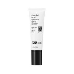 sheer tint broad spectrum SPF 45 for skin protection