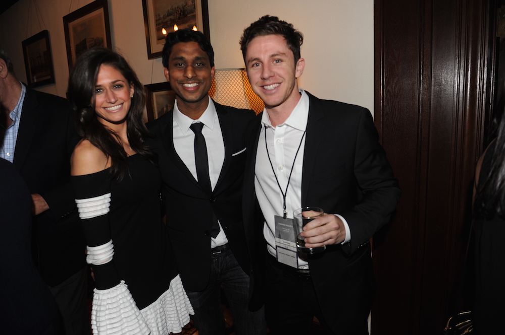 Ankur Jain, Lisa Barnett, Alex Fiance at Kairos Summit