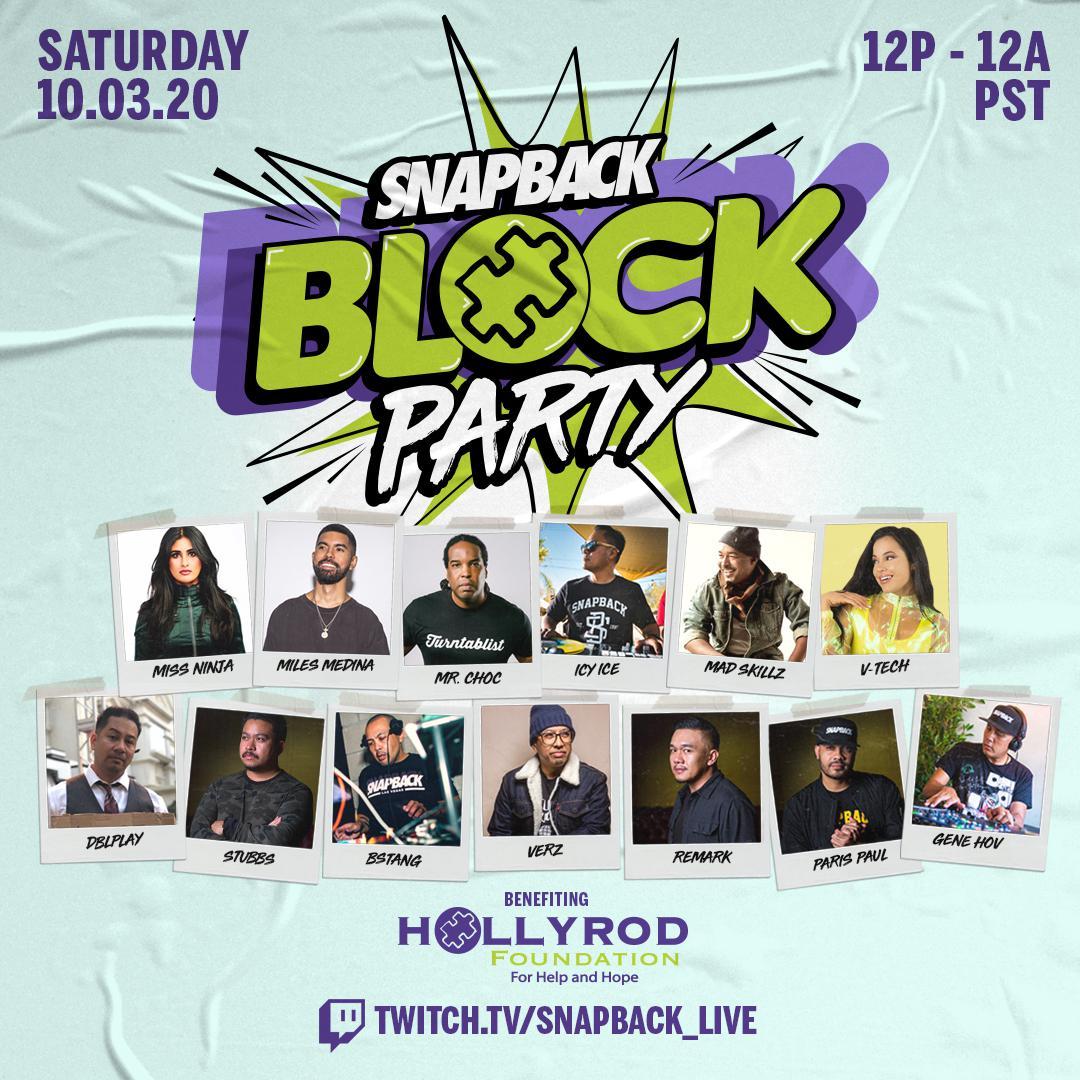 Snapback Block Party