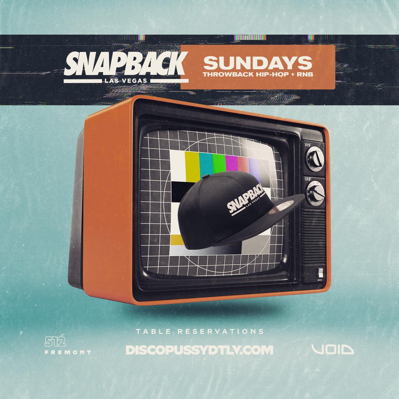 Snapback Sundays Las Vegas