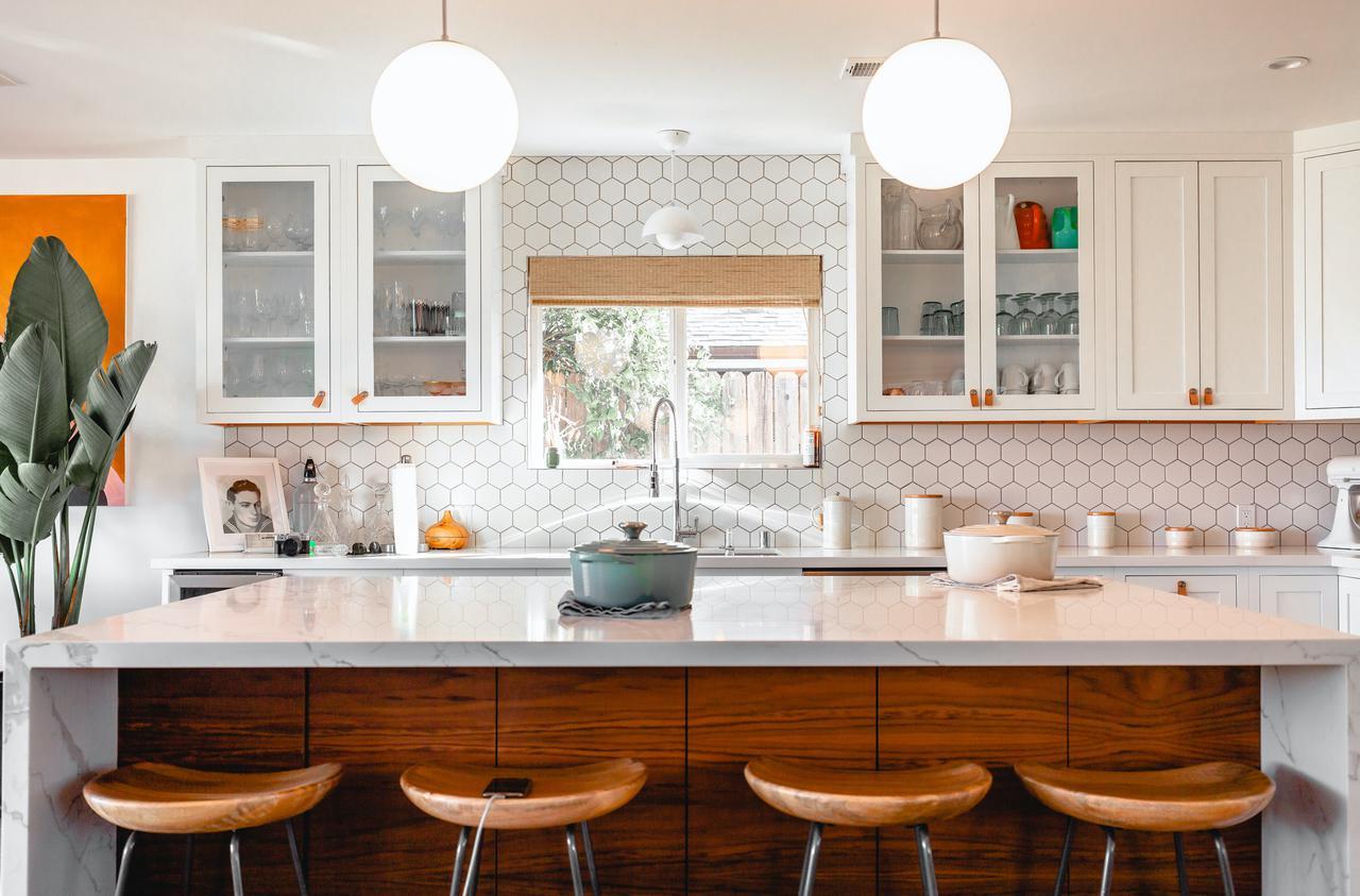 newly remodeled kitchen in Olathe, KS