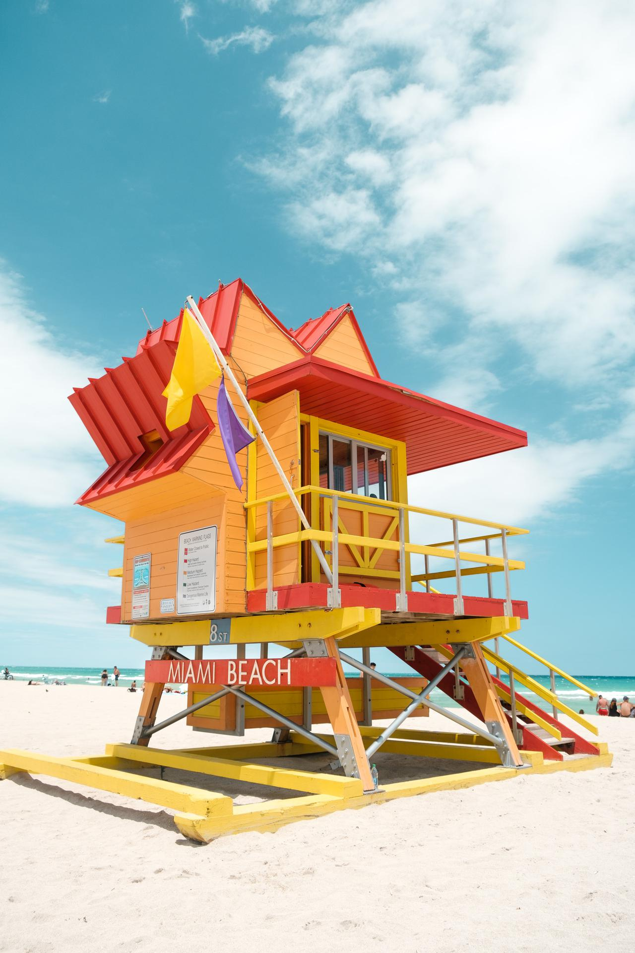 For exteriors that need to withstand the sun and salt of Florida, learn how to use enamel paint.