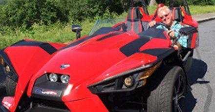 Polaris Slingshot Red
