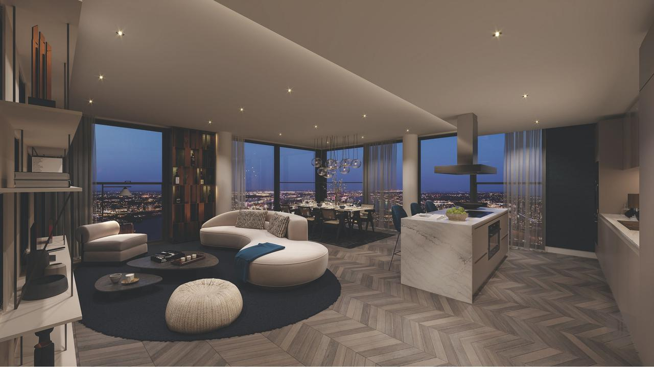 Oriens tower penthouse