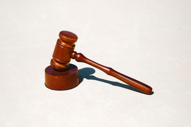 gavel used in court proceedings with a divorce lawyer in San Antonio