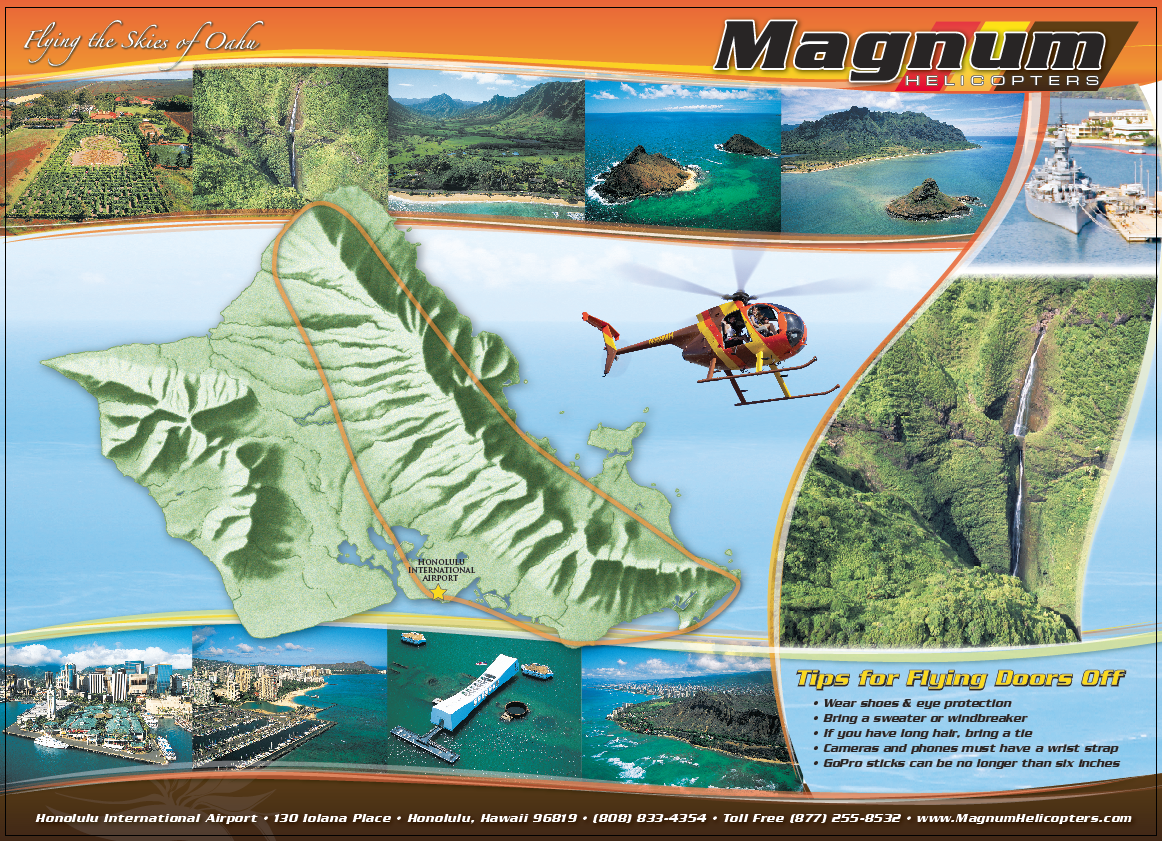 Oahu 50 mins Air Tour