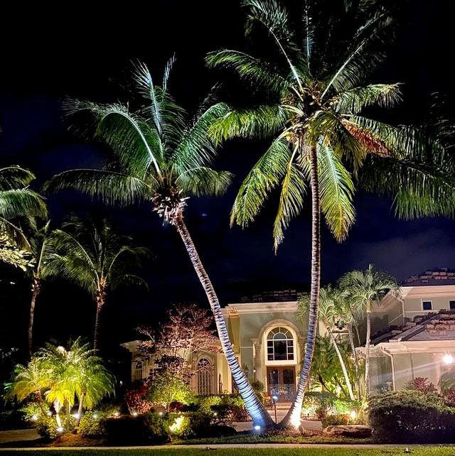 HOA outdoor lighting palm beach