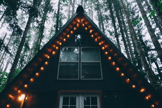 A-Frame Cabin Tye Haus