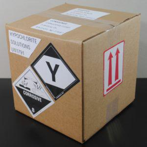 Limited quantities & Consumer commodities hazmat shipping box