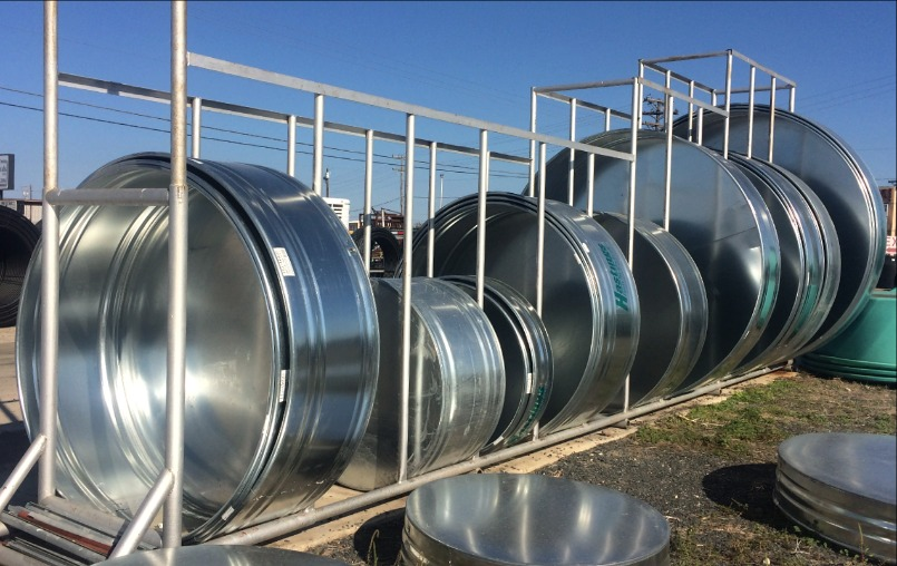 Galvanized and Concrete Water Troughs