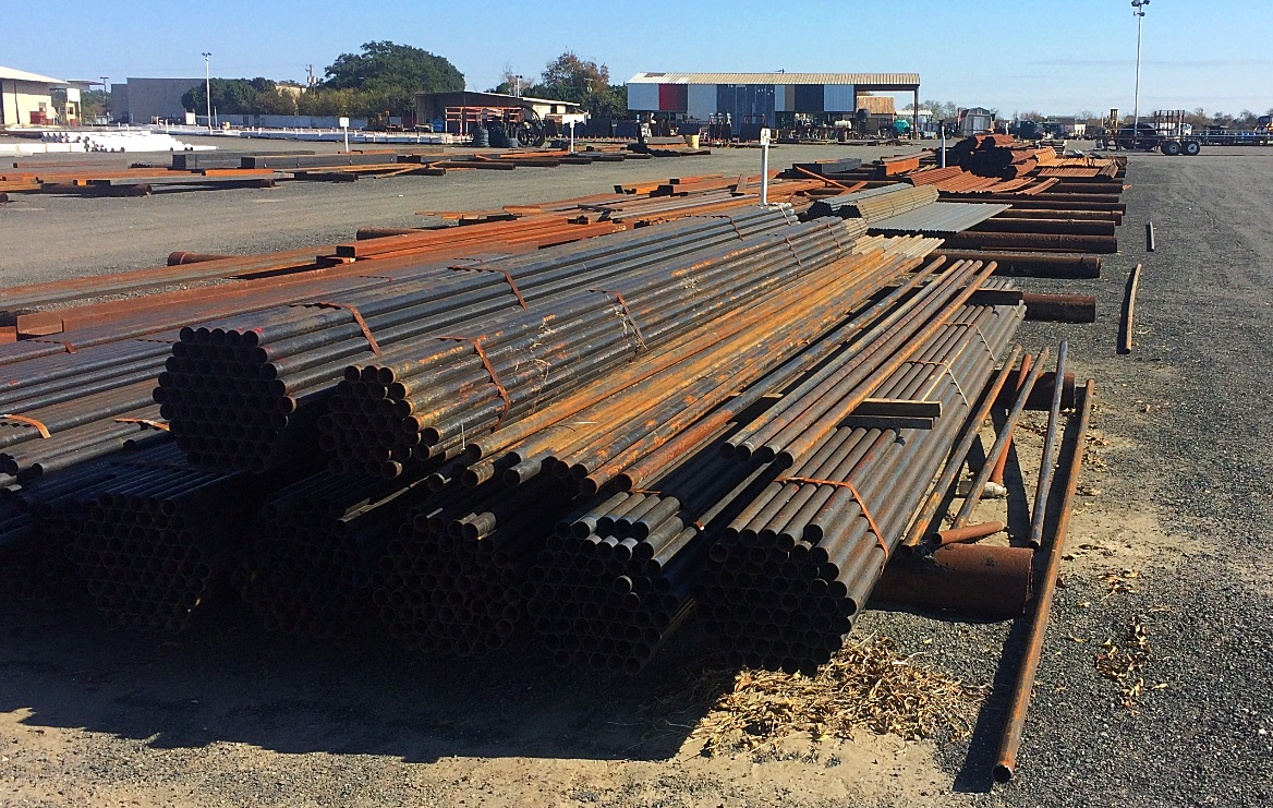 Small Diameter Pipe Used for Fence, Barn, Construction, Sign Posts, Road Boring, Piling, Dredging, Fabrication & More