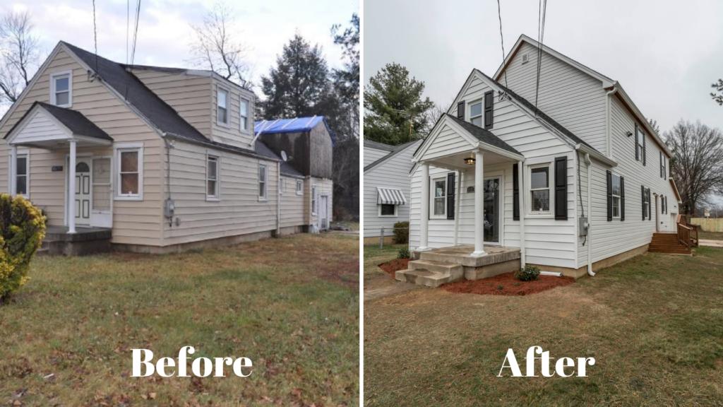 Imgae of exterior home improvement in Washington DC.