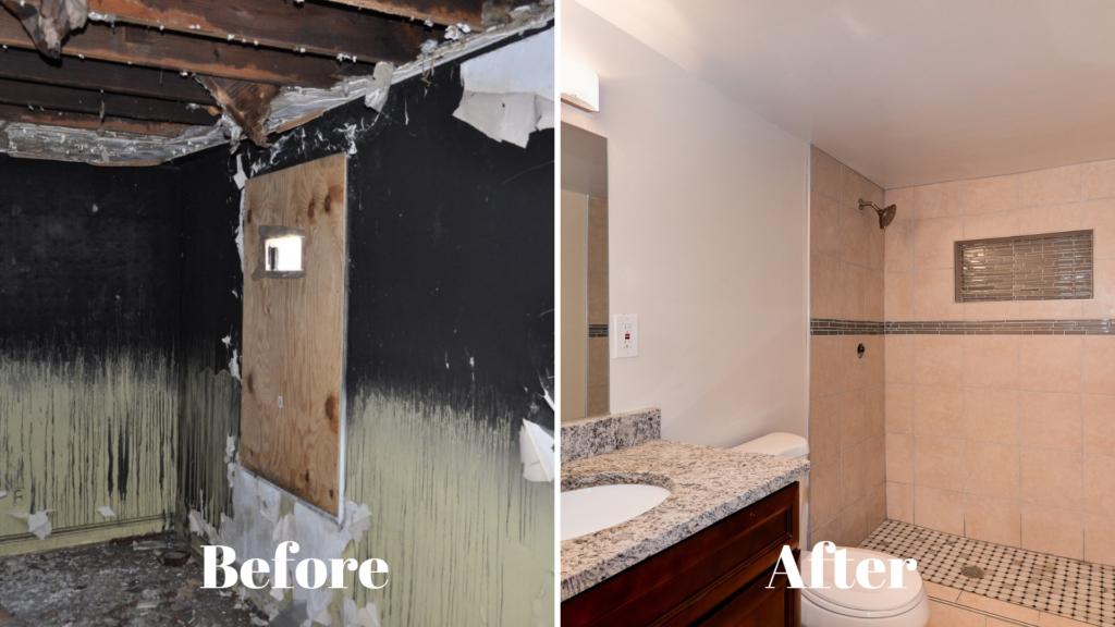 Image of home renovation in Washington DC.