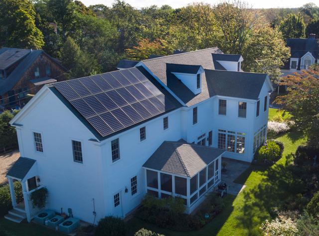 residential solar panels in NY