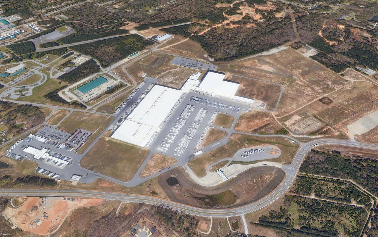 Kroger Distribution Center   Ft Gillem, GA Google Image