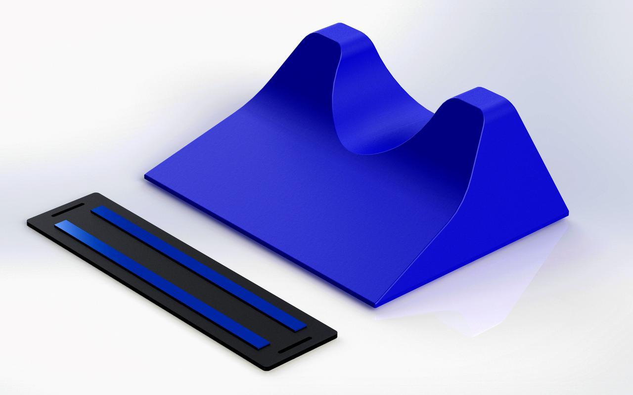 The Azul ITPW (Inertial Trendelenburg Positioning Wedge)