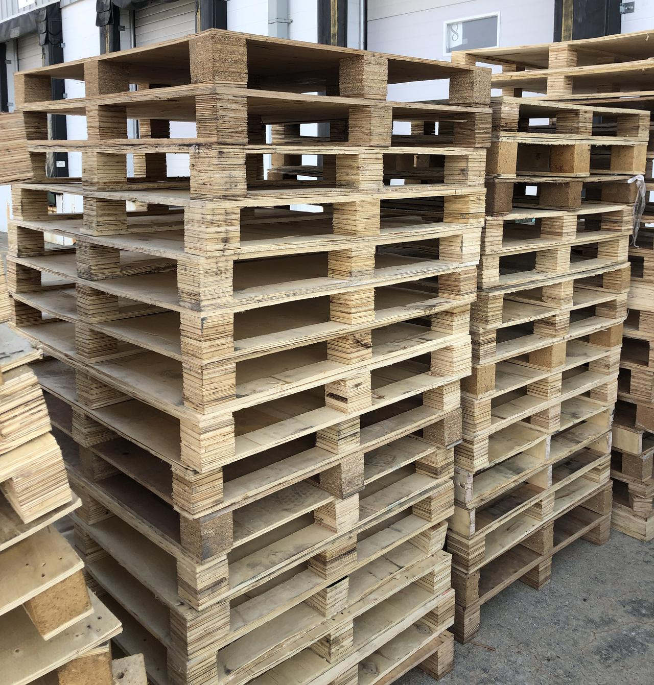 No matter how far you're shipping your products, you can rely on our shipping pallets.