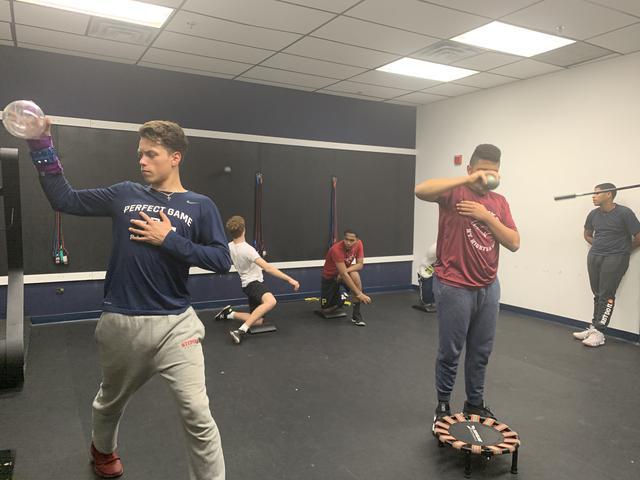 baseball training at Citius Prep in mount vernon new york