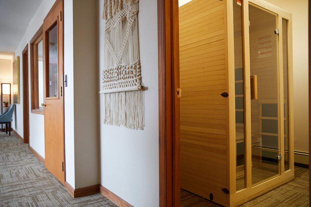 Infrared Sauna at Amla Healing Arts