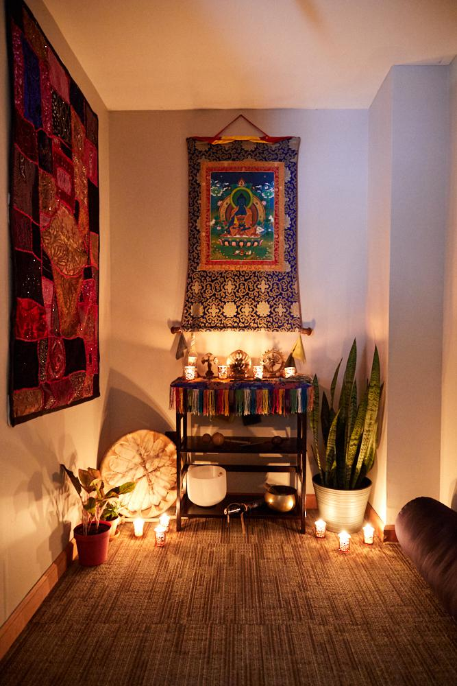 CES Sound & Light Therapy Alter at Amla Healing Arts in River Edge, NJ