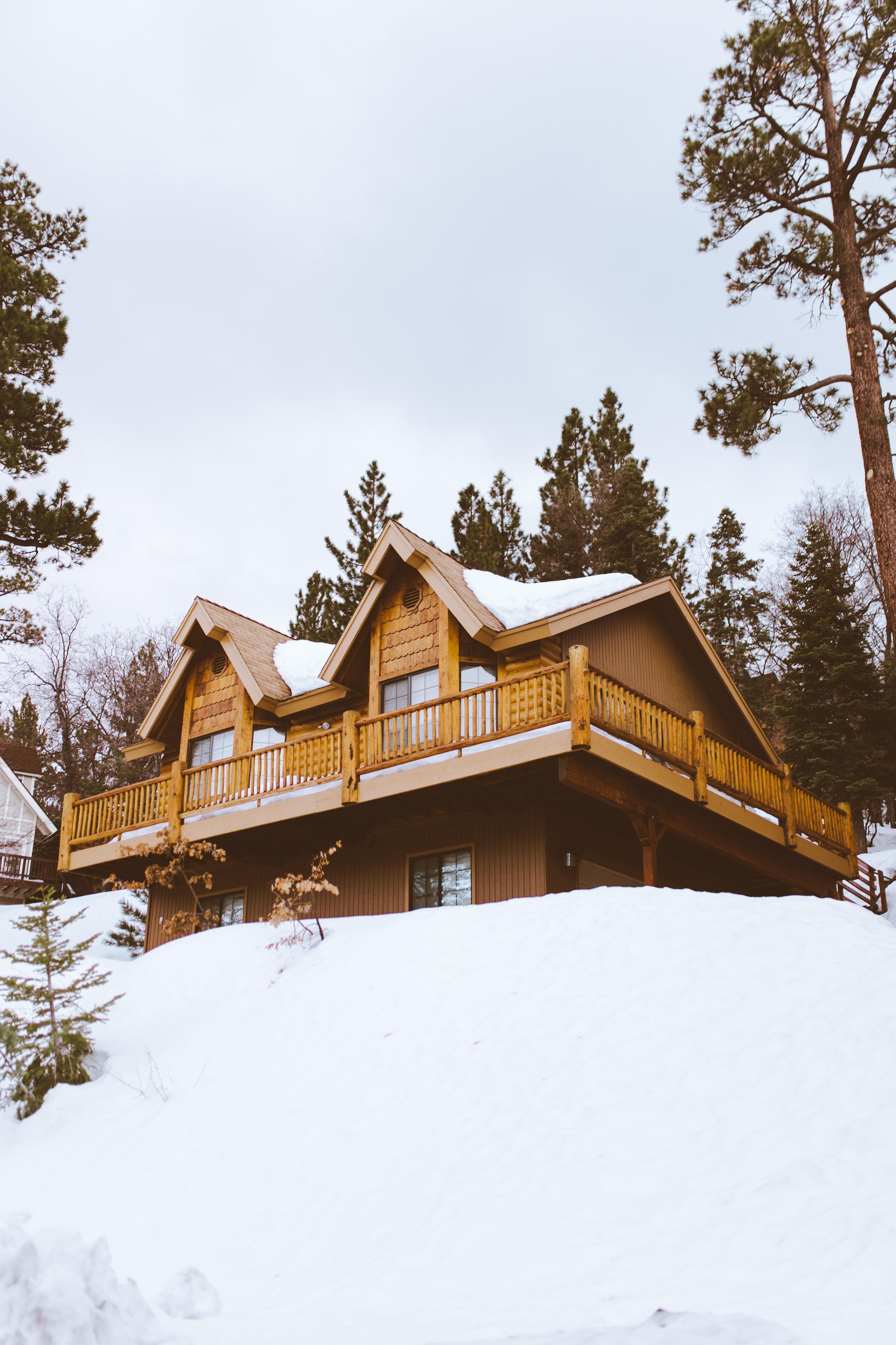 California ski resort
