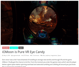 """IOMOON IS PURE VR EYECANDY"""