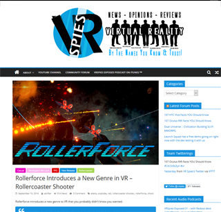 Rollerforce Introduces a New Genre in VR – Rollercoaster Shooter