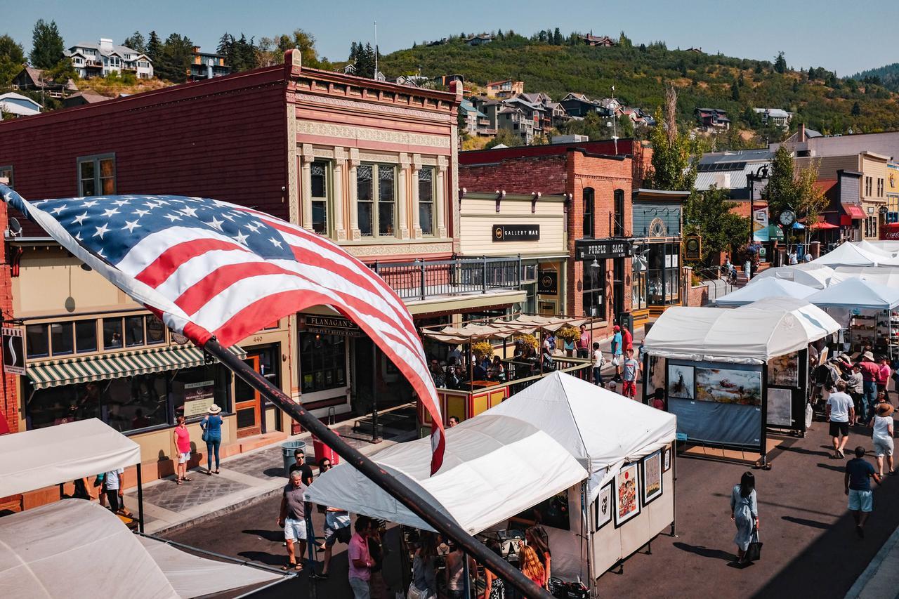 U.S.A. flag pole
