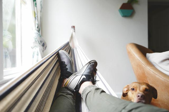 Boston laundry inc online booking for wash and fold gives you free time to lay in a hammock