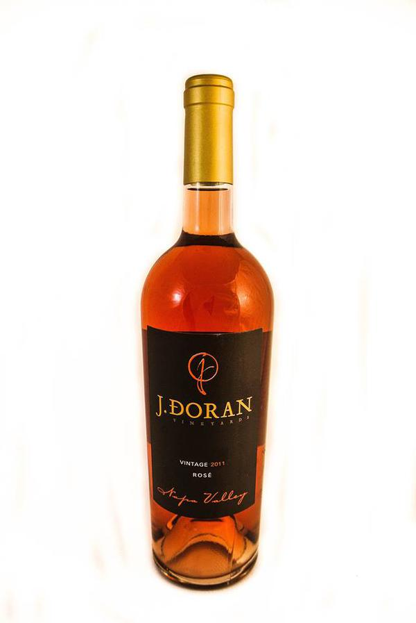 J Doran Vineyard Napa Valley Rosé