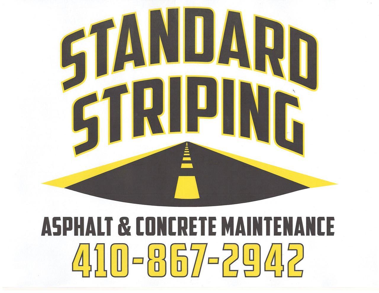 Standard Striping - concrete maintenance
