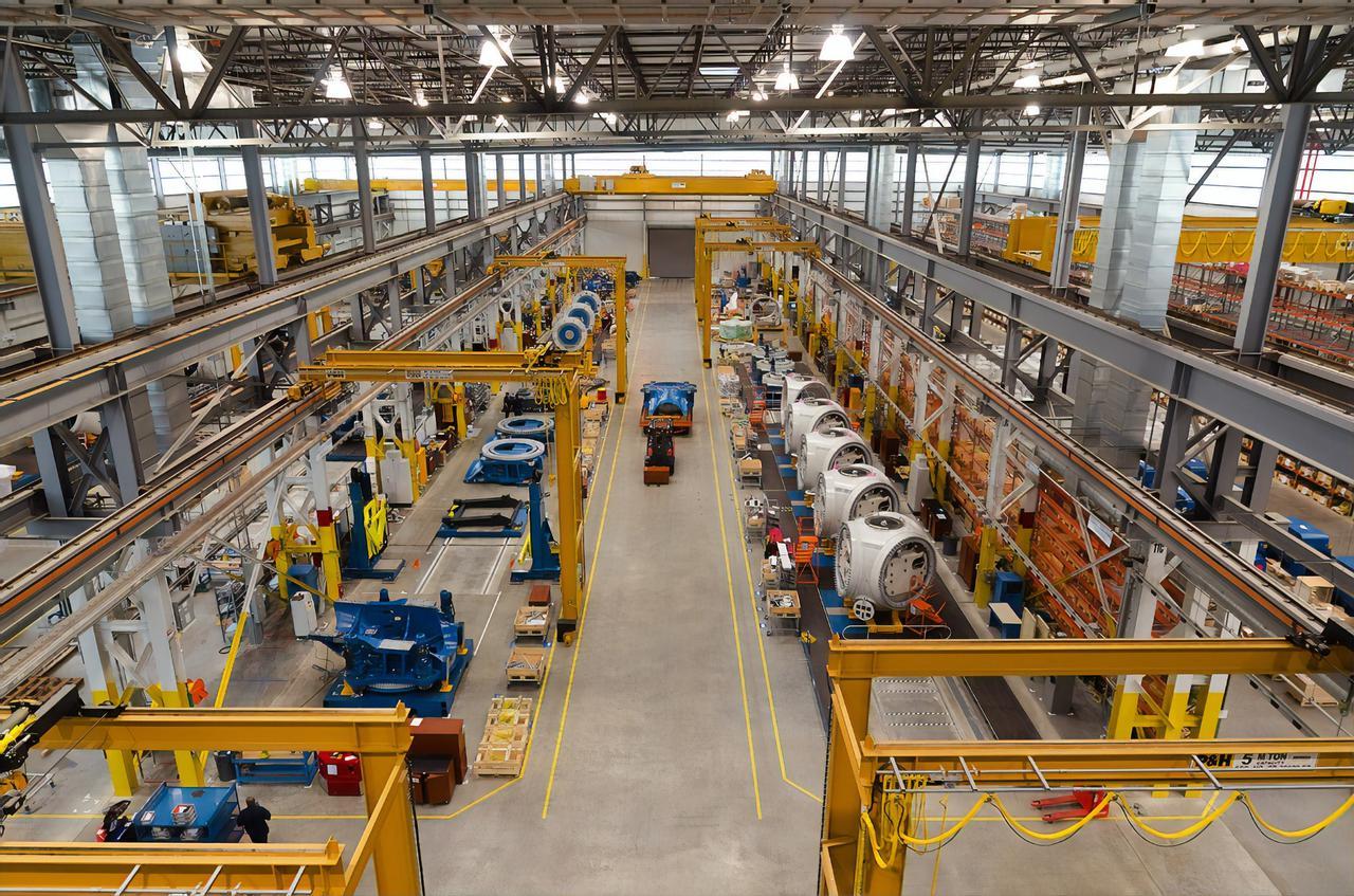 Americans wind manufacturing - Nordex USA manufacturing facility - Jonesboro, Arkansas.