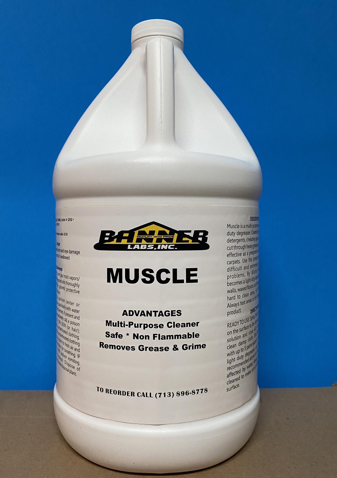 all purpose cleaners and heavy duty degreasers from Banner Labs, Inc