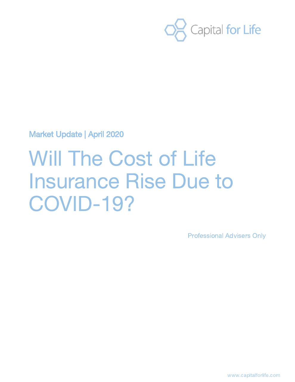 will the cost of life insurance rise due to covid-19?.pdf