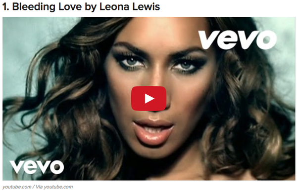 12 Songs To Listen To When You Are On Your Period
