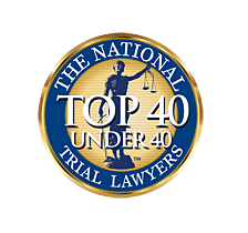 Recipient of The National Trial Lawyers Top 40 Attorneys Under 40 Award