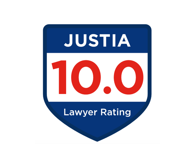 Justia Rating 10 out of 10 based on Peer Review