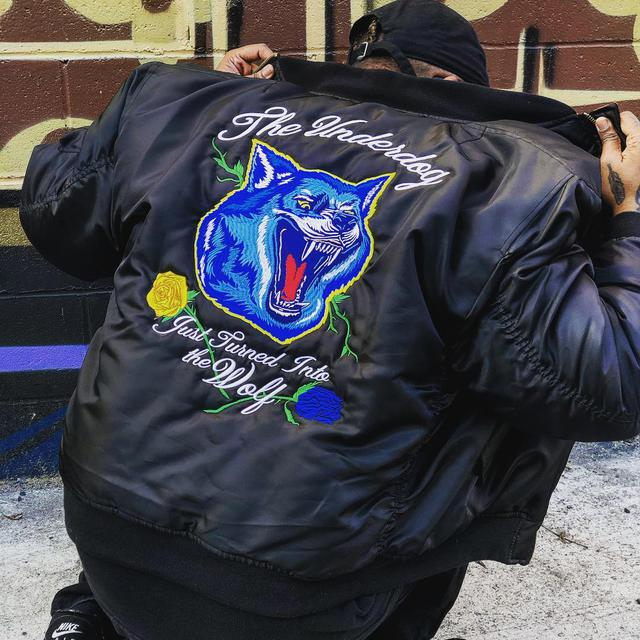 embroidery custom jacket los angeles