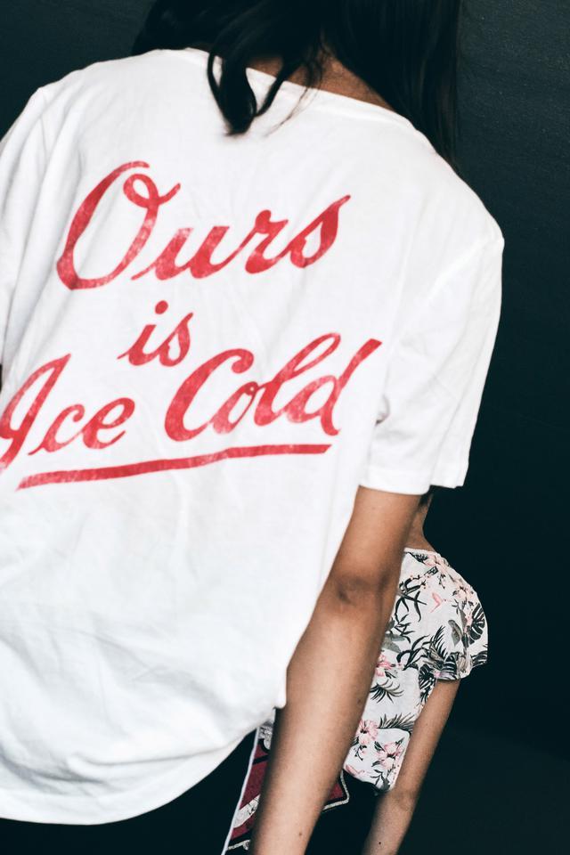 T shirt printed by Shirt Agency.