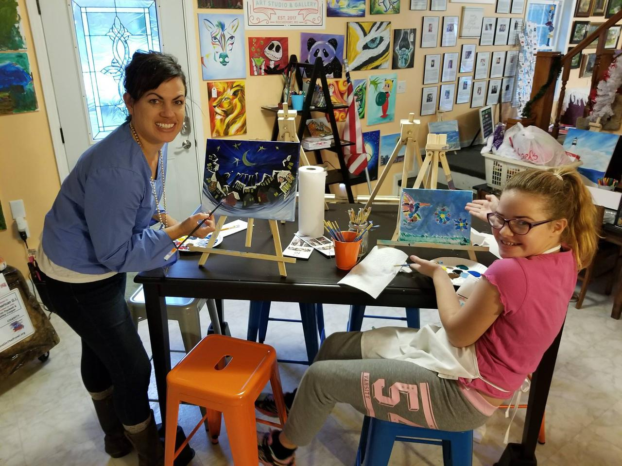 Offer opportunities to learn from local artists