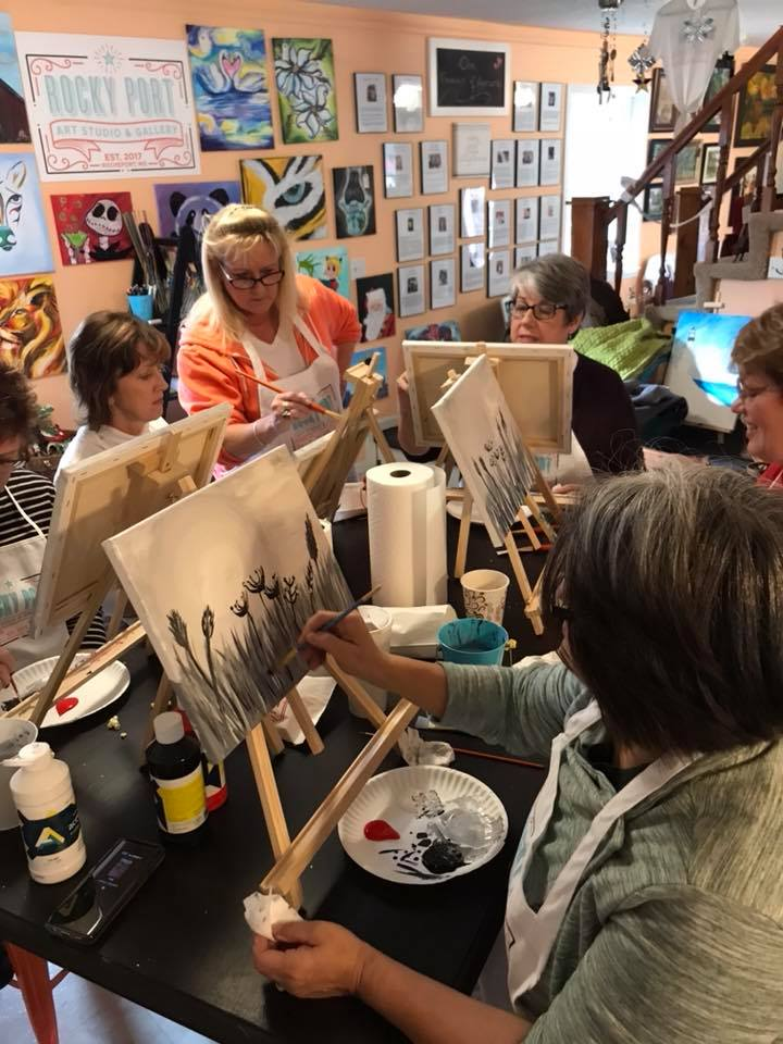 Host art classes