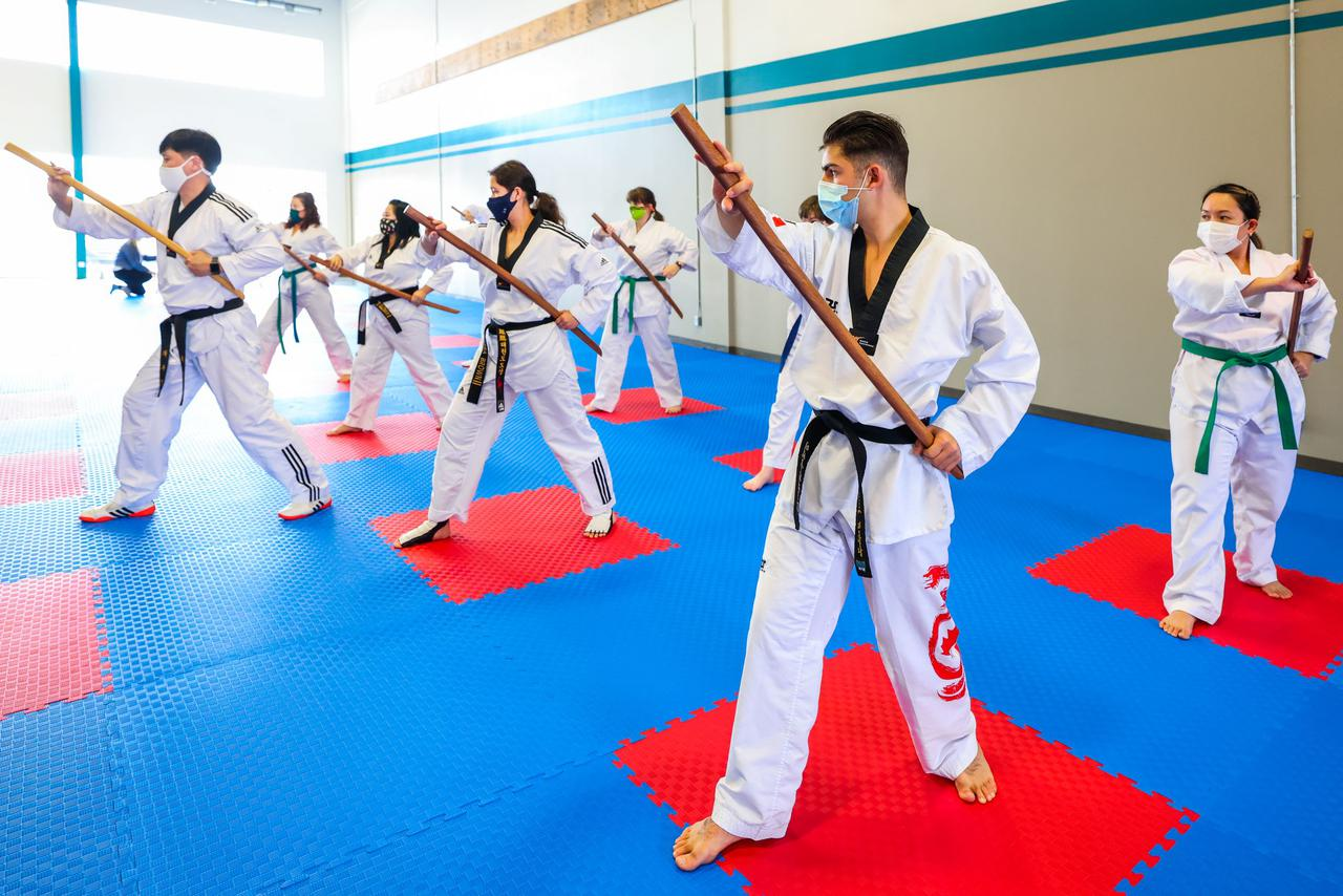 adult martial arts sword class in calgary, alberta, canada