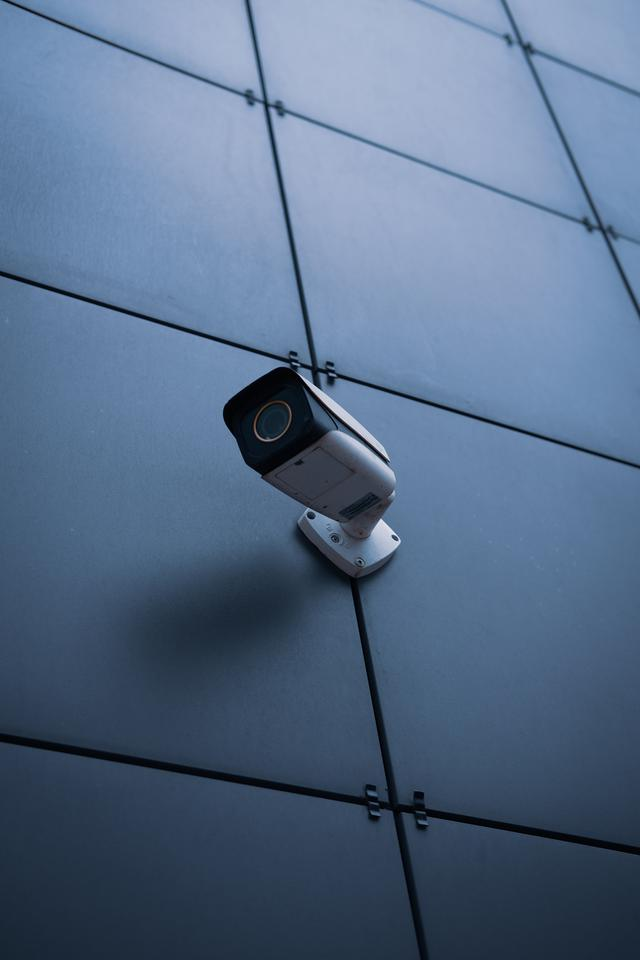 Photo representing a security camera installation for a Philadelphia business.