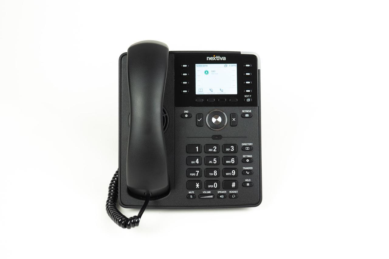 black landline phone for VoIP