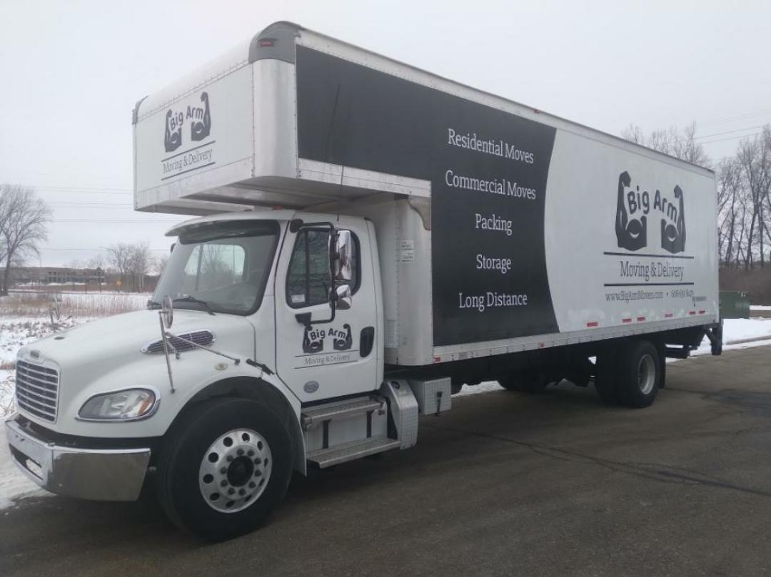 local moving deforest, wi