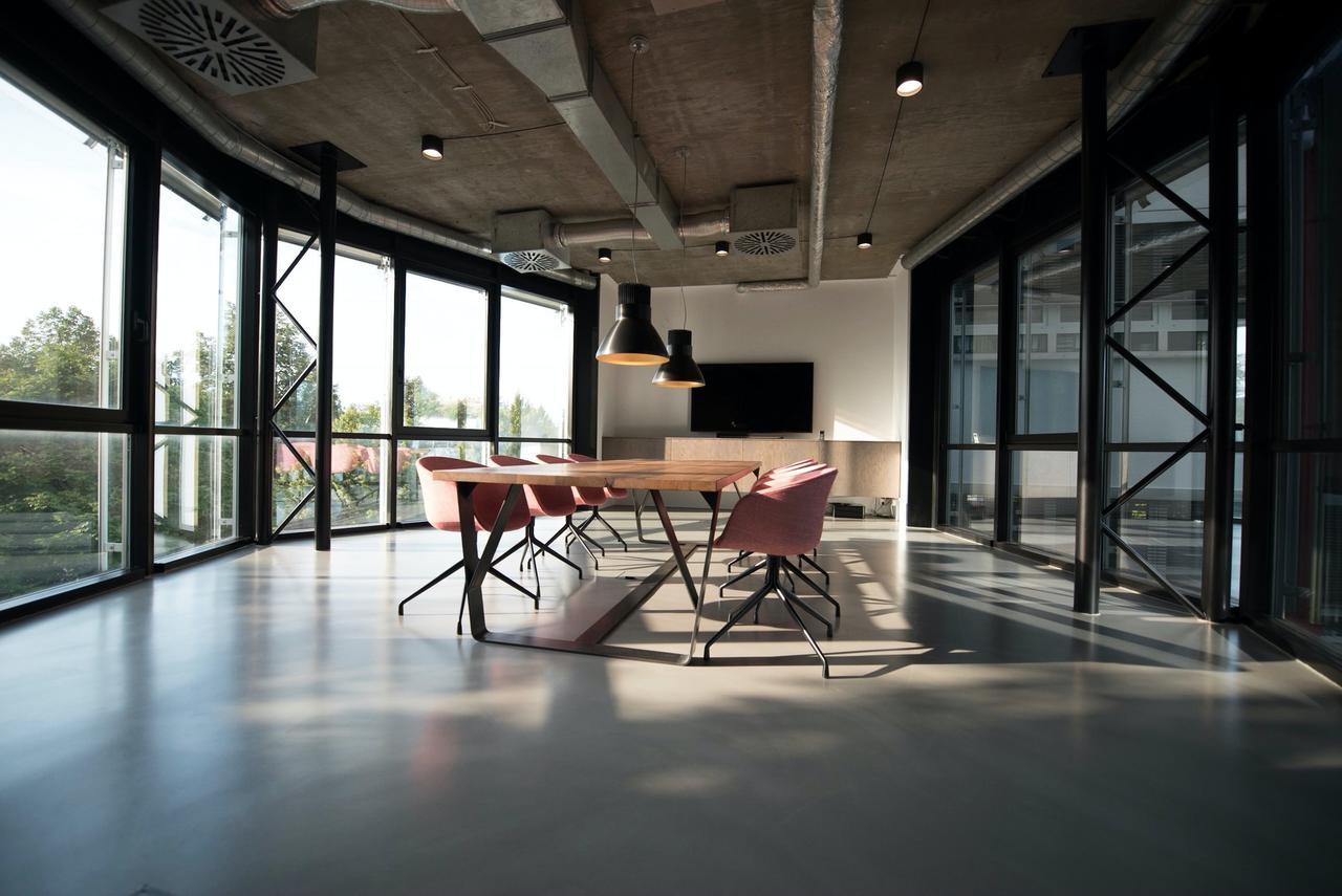Spacious boardroom