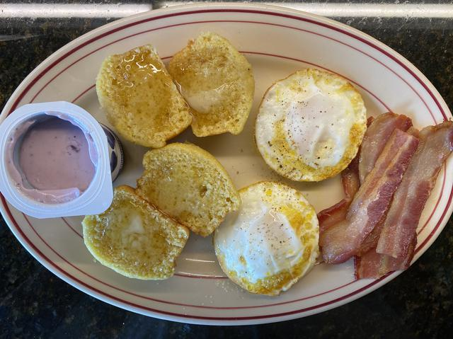 5 eggs, bacon, muffin.jpeg