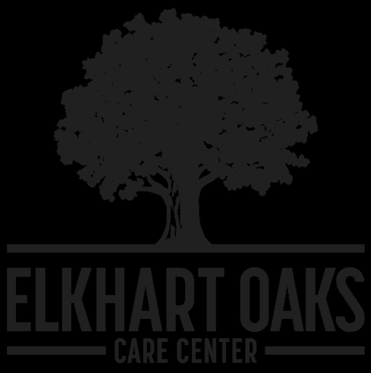 elkhart oaks logo bw.png