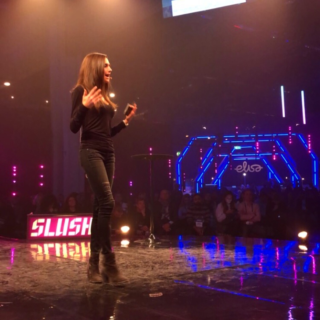 Lisa Barnett, Keynote, Slush
